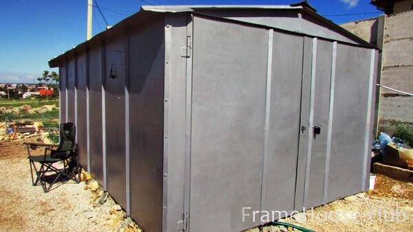Ижорский гараж размеры и вес