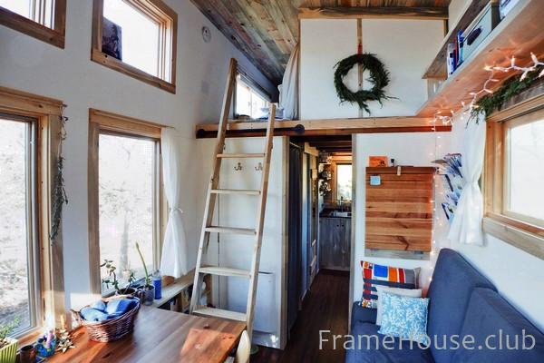 Оптимальный интерьер маленького дома