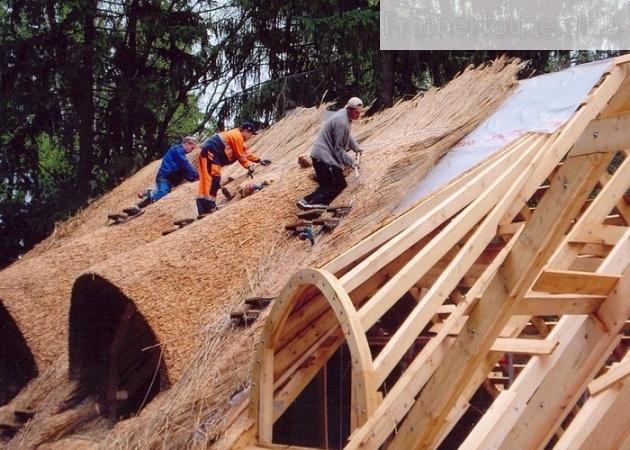 вакансий как сделать крышу из камыша видео Декоративные фонтаны