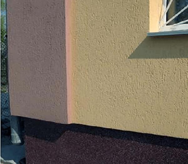 Штукатурка фасада по сетке цена