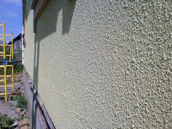 Облицовка фасада панелями с утеплением