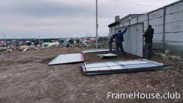 Купить металлический гараж в раменском