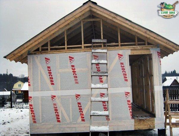 ветрозащитная пленка для каркасного дома