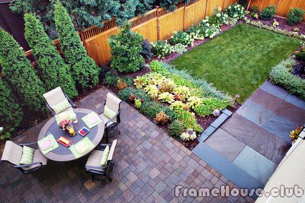 Красивый маленький сад 115