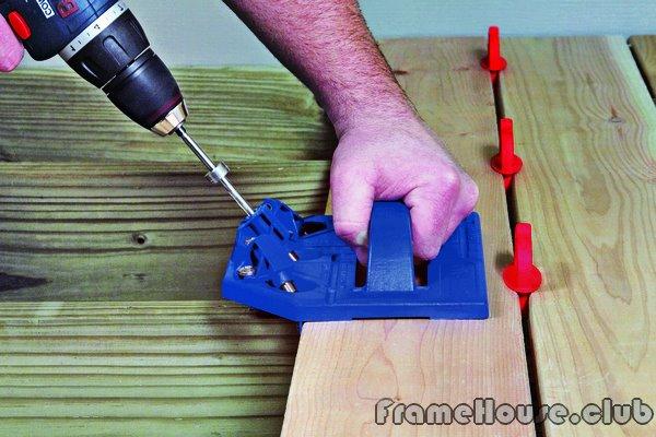 инструмент Kreg Deck Jig для монтажных работ