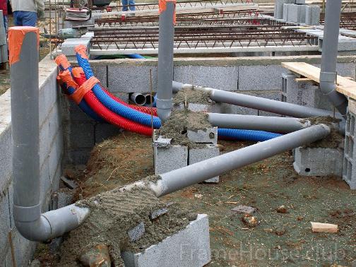 Как прорыть траншею под водопровод