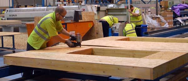 стропильная система финского дома изготавливается на заводе