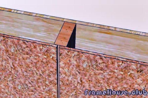 обшивка каркасных стен ОСБ панелями