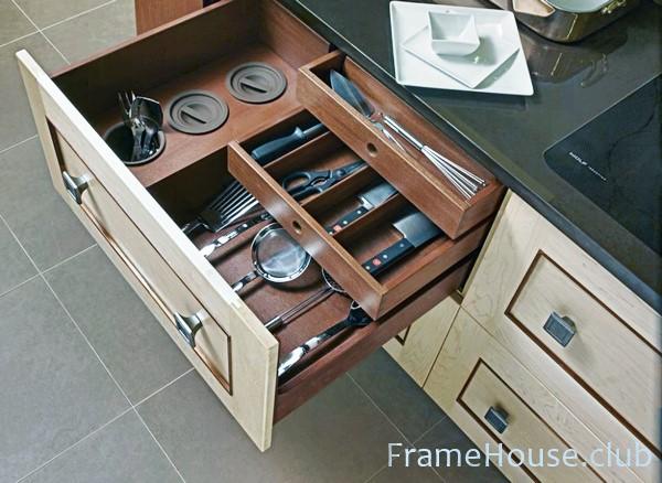 Организация внутреннего пространства на кухне